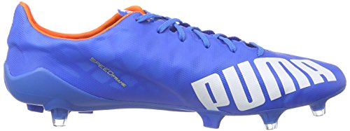 Puma evoSPEED SL FG - zapatillas de fútbol de material sintético hombre azul - Blau (electric blue lemonade-white-orange clown fish 03)