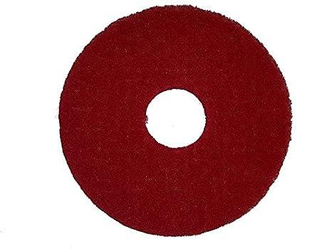 "Bissell BigGreen 437.051BG Commercial Polish Pad 12/"" Box//5 White Easy Motion"