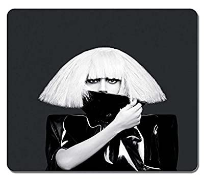 Super Star Lady Gaga Personalized MousePads Natural Eco Rubber Durable Design Non-skid Gaming Mouse Pad/Mouse Mat