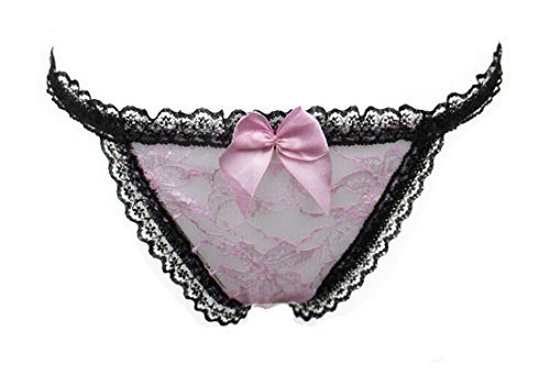 Xx Shop Womens Super-sexy G-string Panty with Metal Chain (pink)