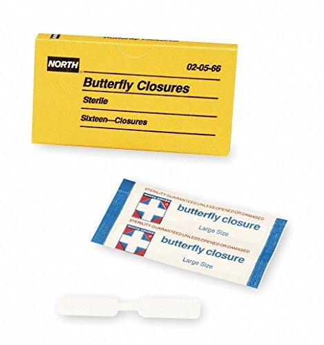 Butterfly Bandage, Beige, Plastic, PK16