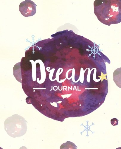 Dream Journal: Purple Watercolor Mysterious and Weird Circles Dream Journal Notebook Daily, College Ruled, 200 pages, 7.5 x 9.25 inches pdf