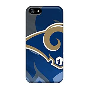 Shock Absorbent Hard Cell-phone Case For Iphone 5/5s With Support Your Personal Customized Nice St. Louis Rams Pictures DannyLCHEUNG