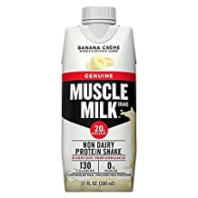 CytoSport Muscle Milk Ready-to-Drink Shake, Banana Creme, 17 Ounce Cartons by Cytosport