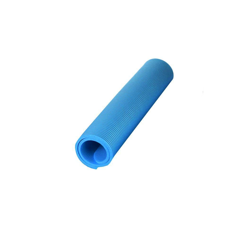 Queind Yoga Mat Thick Non-Slip All-Purpose Exercise Mats for Home Thick 60 x 25 x 1.5cm Soft Fitness Mats Portable Durable Solid Multipurpose High Density
