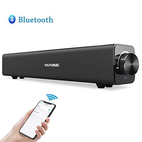 Sound Bar - Bluetooth Computer Speaker Wireless...