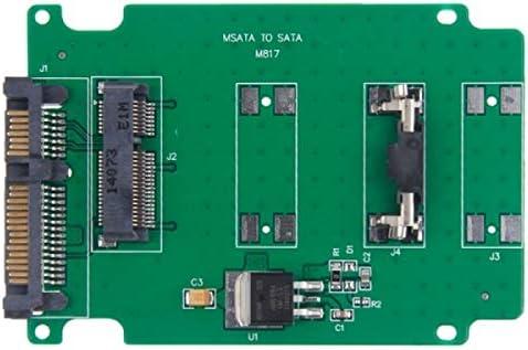 ILS - Disco duro SSD mini PCI-E mSATA a tarjeta convertidor SATA ...