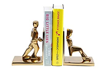 Charmant Sammsara Decorative Working Men Book End Set Of 2   Unique Heavy Metal  Bookends For Office