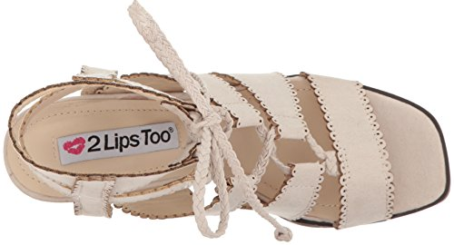 Too Sandal Domino Women 2 Dress Stone Lips 5q6wO