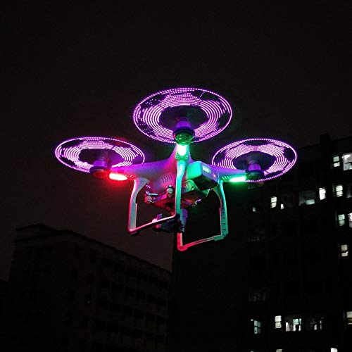 Wikiwand 1 Pair STARTRC LED Luminous Drone Propellers Low Noise for 40mah Battery by Wikiwand (Image #2)