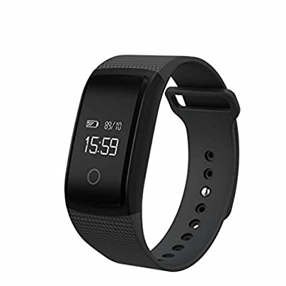 LL-Smart Band Blood Pressure Monitor amp Heart Rate Meter Pedometer Wristband Fitness Bracelet for Android iOS Estimated Price £47.00 -