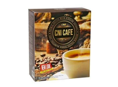 CNI Cafe Ginseng Coffee 20 Sachets New Packaging ( 1 BOX )