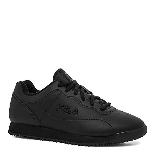 Sneakers Fila Women's Leather Resistant Memory Black Black Slip Black Viable 1U6Oq