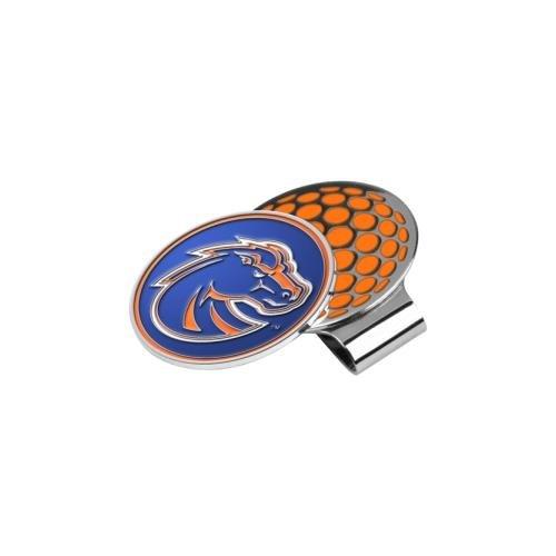 - LinksWalker NCAA Boise State Broncos Golf Hat Clip with Ball Marker