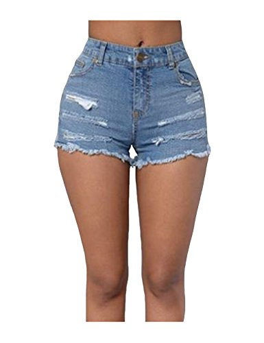 Jean Denim Legou Short Mini Slim Femme Fit Hotpant tqq7raU6