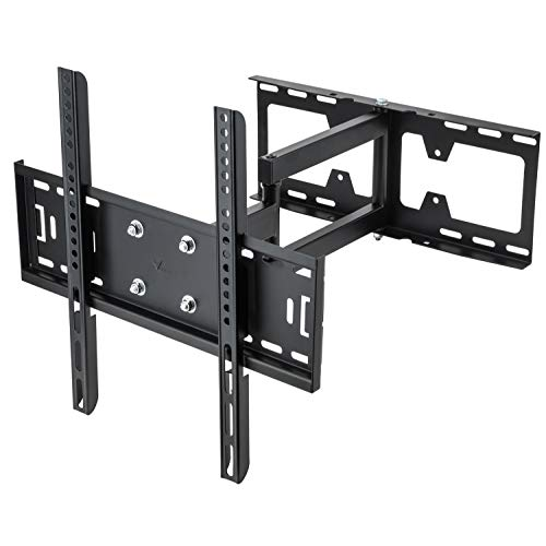 Vemount Tilt Swivel TV Bracket Wall Mount for Samsung Vizio Sony Sanyo LG 30 32 39 40 42 43 46 47 48 49 50 55 60 65 70 inch Plasma LCD LED 4K Flat Panel Smart TV, Works for 2x4 Stud Wall