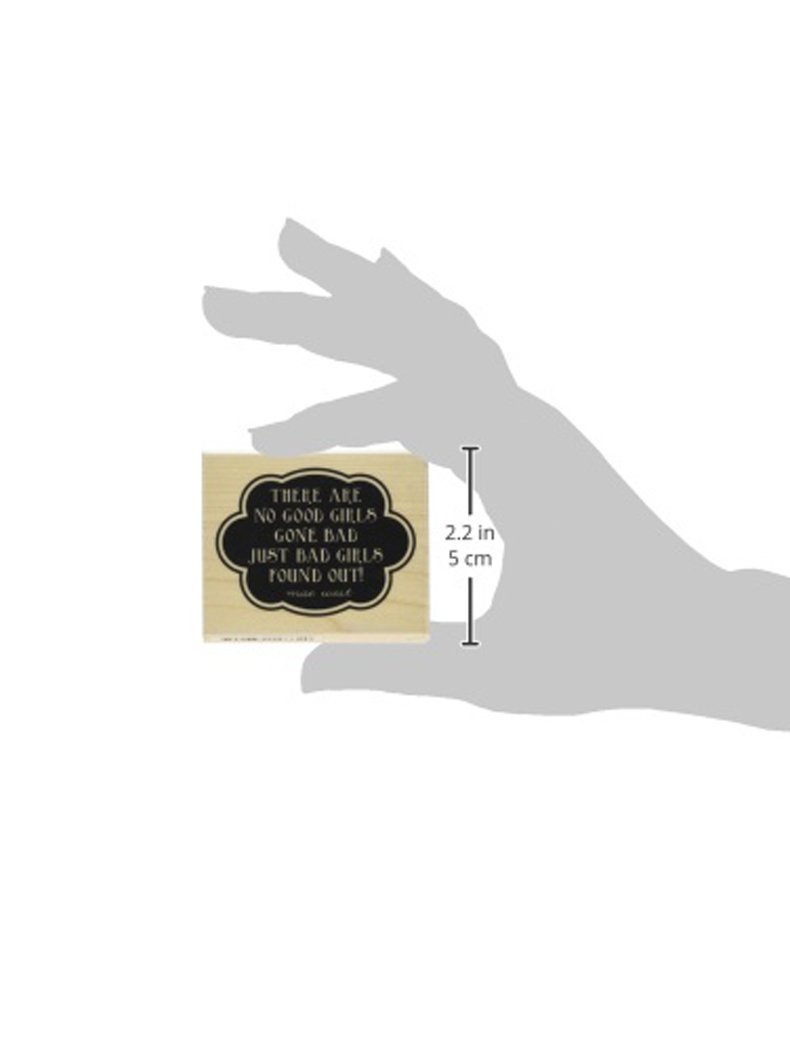 Hampton Art Laugh Out Loud Rubber Stamps Good Girls Gone Bad PS0803