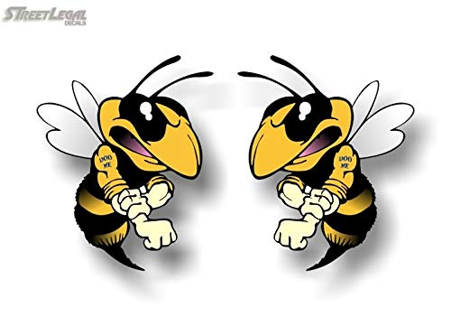 2 DOO ME Bee 5 Vinyl Decals Snowmobile Sled Trailer Stickers