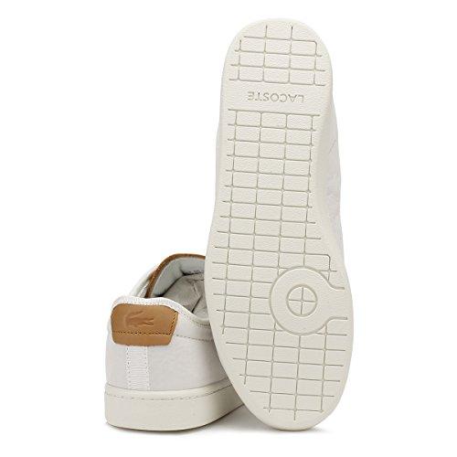 Lacoste Blanco Zapatillas Evo Carnaby Mujer IPwrFqIp