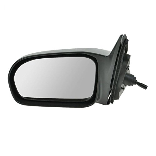Manual Remote Mirror LH Left Driver Side for 01-05 Honda Civic Sedan DX ()