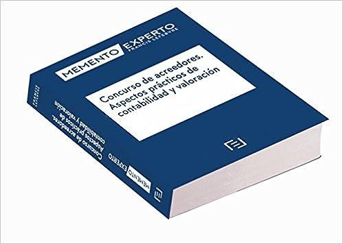 Concurso de acreedores. Aspectos prácticos de contabilidad y valoración: Amazon.es: Lefebvre-El Derecho: Libros