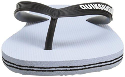 White Quiksilver Molokai Sandal White Men's Black qxxI08Ow