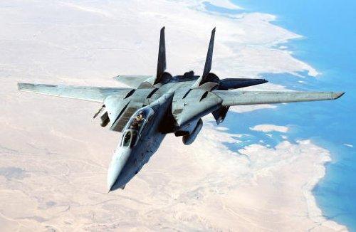 US Navy F-14D Tomcat Giant XL Poster Photo Operation Iraqi F