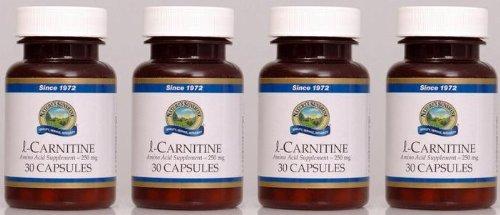 Naturessunshine l-Carnitine Amino Acid Supplement 30 Capsules (Pack of 4)