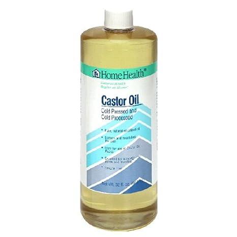 La salud en el hogar aceite de ricino, prensado en frío y frío procesados,