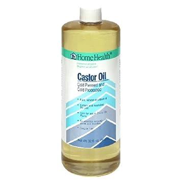 Home Health Original Castor Oil - 32 fl oz - Promotes Healthy Hair & Skin,  Natural Skin Moisturizer - Pure,