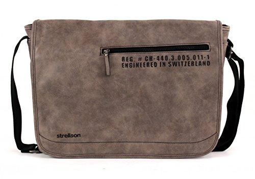 strellson Oakwood Messenger LH Grey Grey (Gris)