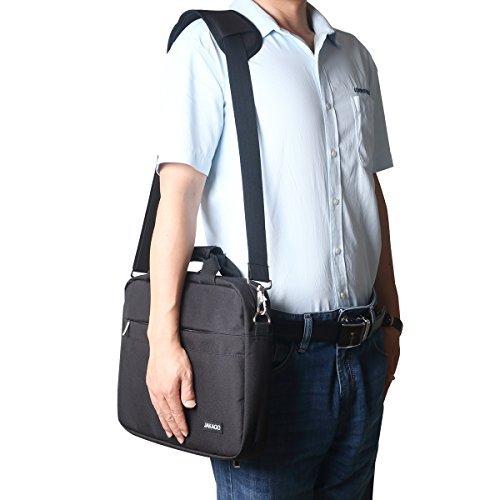 JAKAGO 150cm Universal Adjustable Shoulder Straps Replacement Bag Straps with Metal Swivel Hooks and Non-Slip Pad for Duffel Bag Laptop Briefcase Violin Bag Camera Travel Bag (Black) by JAKAGO (Image #8)