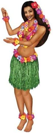 Jointed Hula Girl Party Accessory 1//Pkg 1 count