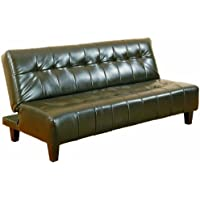 Crown Mark Marco Adjustable Sofa, Espresso