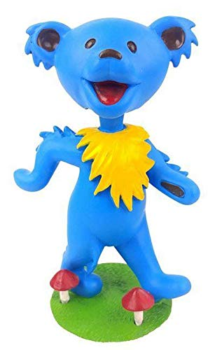 Kollectico DB6B Grateful Dead Dancing Bear Bobblehead, Blue