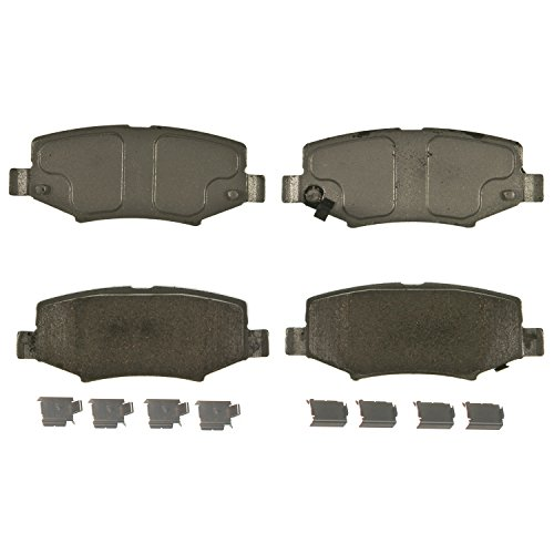 Wagner ThermoQuiet QC1274 Ceramic Disc Pad Set, (Jeep Liberty Brake Pads)