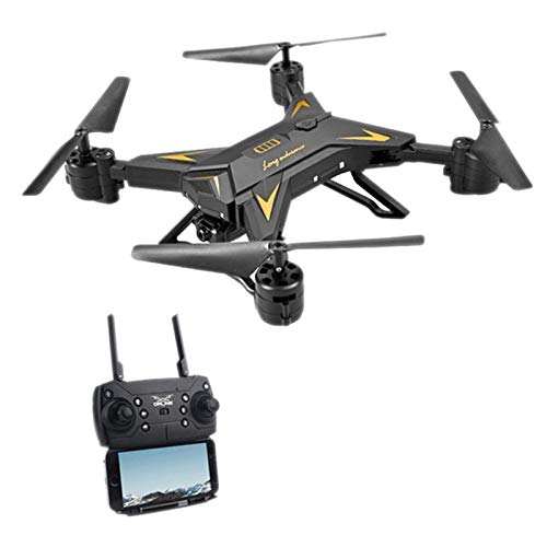 XZANTE KY601S HD Wide Angel Camera WIFI FPV Quadcopter Toy RC Drone APP Control Helicopter, 500W 1080P WIFI FPV Camera Black