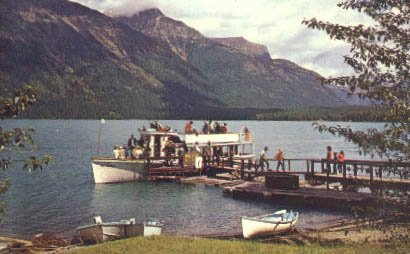 Glacier National Park, Montana Postcard from Old Postcards