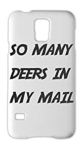 so many deers in my mail Samsung Galaxy S5 Plastic Case