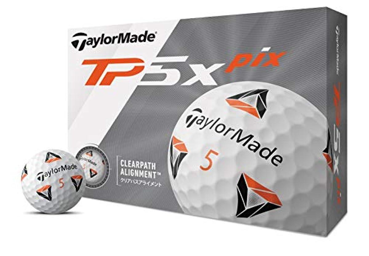 [해외] 테일러 메이드 TP5x PIX 골프공 12P M7184301