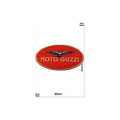 Set of 5 Moto Guzzi red Motorbike Motorsport Motorcycles Biker Vest Jacket T shirt Sew Iron on Patch Gift Mom Dad