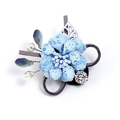 Fashion Handmade Lapel Pin 3 Color Women & Men Brooches Of Fabric Flowers Lapel Pin Brooch For Suits Elegant Wedding Brooch 3