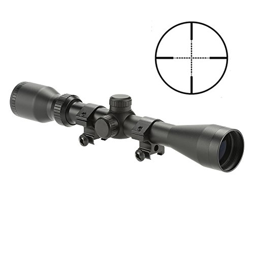 Pinty Pro 3-9X40 Mil-dot Tactical Rifle Scope Optics Optical Scope for Hunting with Aircraft-Grade Aluminum Alloy Tube, Waterproof Fog Proof