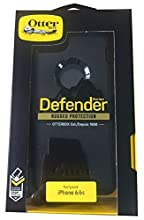 Otterbox Defender, Rugged Protection Case for iPhone 6/6S, Black