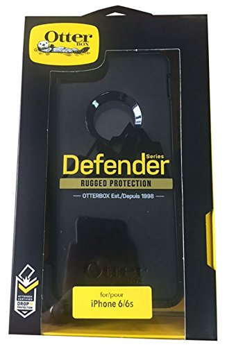 Otterbox Defender, Rugged Protection Case for iPhone 6/6S, Black by OtterBox