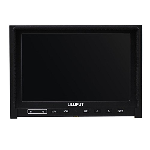 Zhigao High Resolution Lilliput 339 7 IPS Camera Top Monitor HDMI Input AV in Out Put by Zhigao (Image #2)