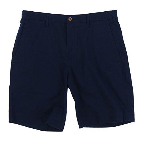 Polo Khaki Chino (Polo Ralph Lauren Mens Stretch Classic Fit Chino Shorts (32, Navy))