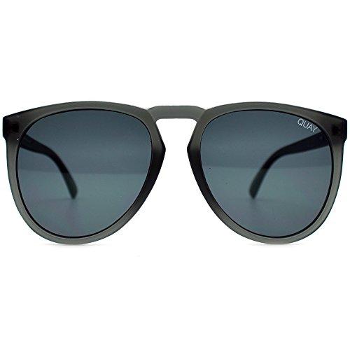 QUAY AUSTRALIA  Men's Phd Grey/Smoke One - Quay Mens Sunglasses