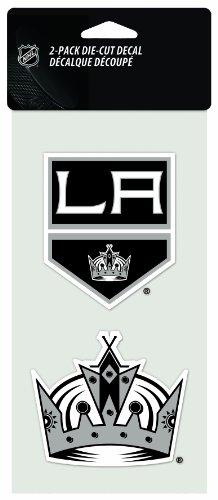 NHL Los Angeles Kings 2-Piece Die-Cut Decal, 4