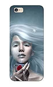 KRZzYKc9670HaPeP Faddish Ice Queen Case Cover For Iphone 6 Plus With Design For Christmas Day's Gift BY icecream design